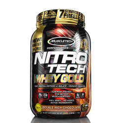 MUSCLETECH NITRO-TECH 100% WHEY GOLD (2.5LBS)